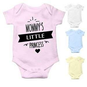 Mommy's Little Princess   Cute Baby Grow Baby Bodysuit Baby Vest   Baby Gift