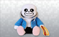 Undertale Sans plush with extra eyes. 10 Inches Tall