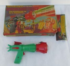 VINTAGE EXTRA RARE SPACE RAY GUN, NMIB, FROM STORE, ARGENTINA, PLASTIC, LQQK!!