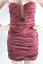 Bcbg max  azria New Dress TRISTINA Strapless Ruby Prom dress SZ 08=29  Authentic