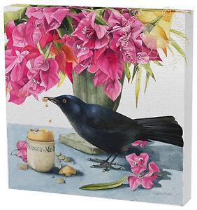 "Marjolein Bastin - Tropical Breakfast 12"" x 12"" Gallery Wrapped Canvas"