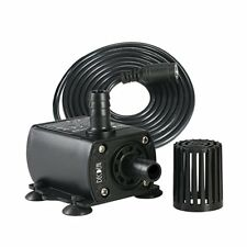 Mini DC 12V 4M 10W 400L/H Flow Rate Brushless Motor Submersible Water Pump Home