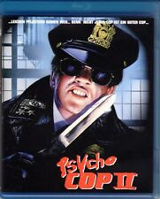 Psycho Cop 2 , Returns , 100% uncut , Blu-Ray , new and sealed , Cover A