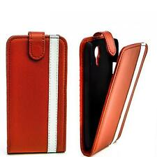 Flip Case Handytasche für Apple iPhone 5 Schutzhülle Etui Tasche Cover