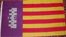 Mallorca Flag Spanish Espana Football catalan Majorca Tourism Tourists Holidays