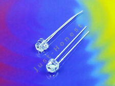 Stk.2 x LED 5mm deux tons/bicolore jaune-bleu/yellow-Blue round #a660