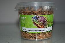 FMR Shrimp & Mix Di Krill adatto per rettili tartarughe Terrapin vasca 30g circa