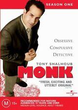 MONK FIRST SEASON ONE 1  DVD 4 DISC BOX SET R1 VGC TONY SHALHOUB  Z1