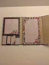 NEW PELA STUDIO MAGNETIC BINDER WITH NOTE PAPER/TO DO LIST/AND STICK ONS