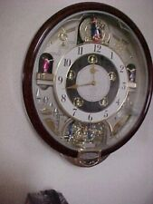 SEIKO LARGE MUSICAL CLOCK PLAYS BEATLES SONGS EXCELLENT