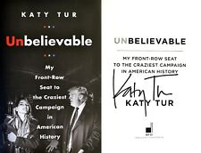 Katy Tur~SIGNED IN PERSON~Unbelievable~1st/1st + Photos!! Donald Trump