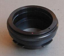 Adapter from Kiev 88 lens to ARRI Red One Arriflex PL camera, ORIGINAL, NEW