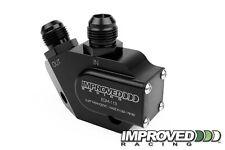 Improved Racing Oil Cooler Adapter 212F Thermostat, LS1 LS2 LS3 LS6 LS7, -10AN