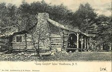 """A View of """"Camp Comfort"""", Below Woodbourne Ny 1906"""