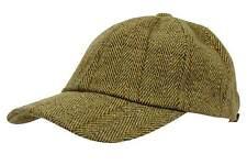 Nicky Adams Mens Derby Tweed Baseball Cap Teflon Coated Wool Waterproof a31cfb435847