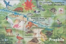 Brazil block99 (complete.issue.) unmounted mint / never hinged 1995 Stamp Exhibi