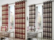 Ideal Textiles Checked Curtains & Pelmets