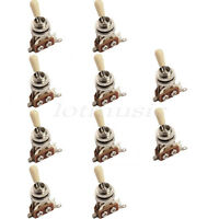 10 Pcs 3 Way Toggle Switch for Electric Guitar Parts Replacement