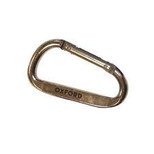 Oxford Mousqueton Porte-clés Clip Moto Argent 8cm X 7.5mm OFCHA
