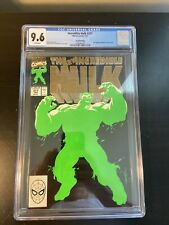 The Incredible Hulk #377 Gold Variant CGC 9.6 Rare 2nd Print Professor Hulk