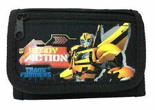 Transformer Bumblebee wallet Children Boys Girls Wallet Kids Cartoon Coin Purse