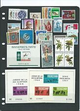 Foreign complete MNH sets and S/s CV $47.00- cheap!