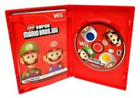 New Super Mario Bros. Wii (Nintendo Wii, 2009) Complete CIB Fully Tested VGC!