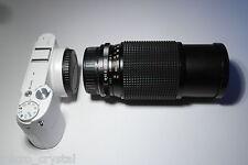 Pentax PK Rare JCPenney 80-200mm F4.5 lens lente objektiv 52mm Ø filter + caps