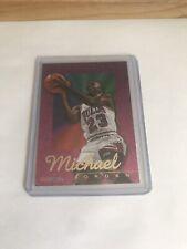 🔥1995-96 SkyBox NBA Hoops Michael Jordan 'Power Palette' Rare Foil Insert🔥