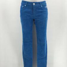 Escales Blue Corduroy Pants Size 14