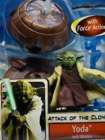 Hasbro Star Wars Attack of the Clones: YODA Jedi Master Action Figure