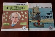 vintage paperback booklets about Canada history