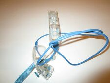Nyko Nintendo Wii Remote Controller And Nunchuck Clear See Through Set