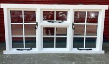 Hardwood Georgian Triple Casement Window with Astragal bars! Glazed! Bespoke!!!