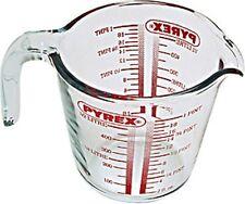 Pyrex Glass Measuring Jug, 0.5L Ovenproof, Freezer, Dishwasher & Microwave Safe