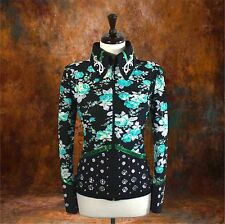 2X-SMALL Western Showmanship Pleasure Horsemanship Show Jacket Shirt Rodeo Queen
