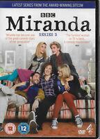 Miranda Series 3 DVD Tom Ellis Patricia Hodge Sarah Hadland Sally Phillips
