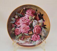 Franklin Mint Grace De Monaco Rose Plate By Katharine Austen