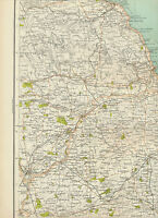 2310 1898 MAP of Royal Atlas of England & Wales Pl.23 YORK (Yorkshire)