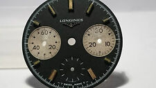 😱RARE VINTAGE 70' LONGINES CHRONO DIAL FOR VALJOUX 726😱