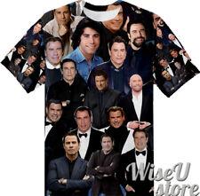 JOHN TRAVOLTA T-SHIRT Photo Collage shirt 3D