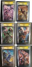 Uncanny X-Men #1 All 6 CGC/SS 9.8 Covers A-F Signed by J. Scott Campbell VVHTF🔥