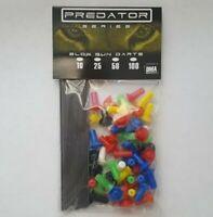 Predator Blowgun Target Darts 50 Pack Long Shaft Sharp Tip .40 Caliber Darts DMA