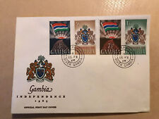 Gambia Independence First Day Cover 18th Feb 1965