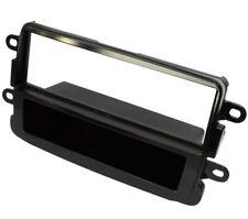 Adaptador autoradio marco reductor 1DIN brillante para Dacia Logan Sandero