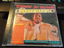 Rated X by Screamin' Jay Hawkins, CD (1993 Sting Music - Recorded Live 7/6/1970