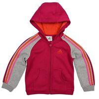 Adidas Performance Enfants Ess à Capuche Fille Veste Polaire