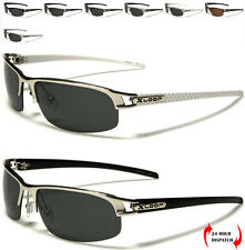 New Polarized Xloop Men Women Oval Slim Sport Driving Metal Sunglasses UV400