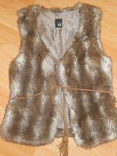 PIMKIE Veste sans manches fausse fourrure faux fur jacket S