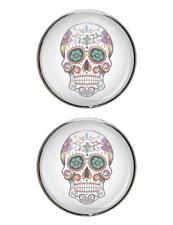 Mexican Sugar Skull Stud Earrings